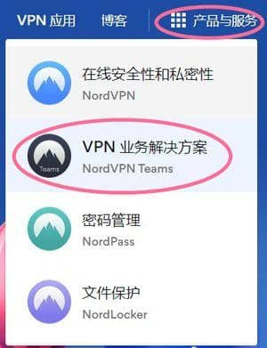 nordvpn product and service