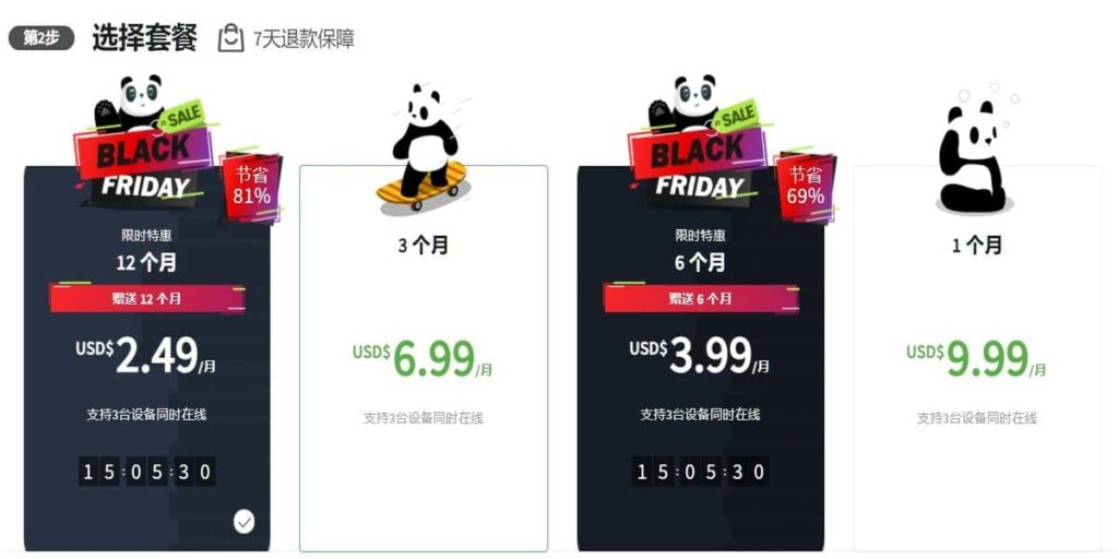 pandavpn blackfriday price
